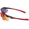 Oakley M2 Frame XL Cykelbriller Herrer rød/sort